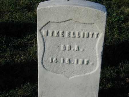 ELLIOTT, WYKE - Douglas County, Nebraska | WYKE ELLIOTT - Nebraska Gravestone Photos