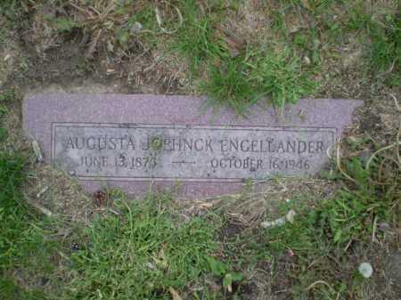 ENGELLANDER, AUGUSTA JOEHNCK - Douglas County, Nebraska | AUGUSTA JOEHNCK ENGELLANDER - Nebraska Gravestone Photos