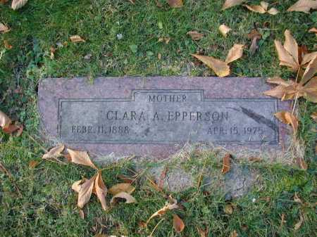 EPPERSON, CLARA AUGUSTA - Douglas County, Nebraska   CLARA AUGUSTA EPPERSON - Nebraska Gravestone Photos