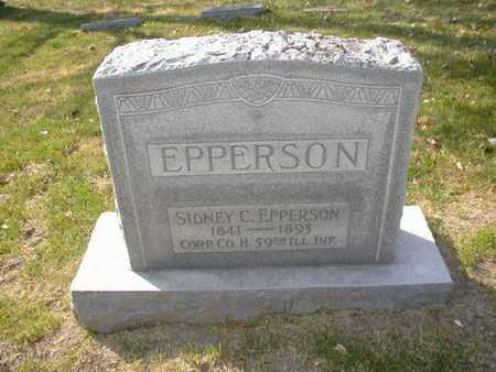 EPPERSON, SIDNEY C. - Douglas County, Nebraska | SIDNEY C. EPPERSON - Nebraska Gravestone Photos