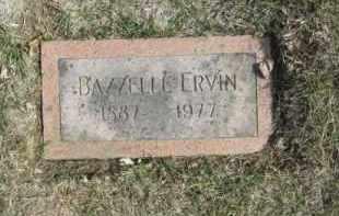 ERVIN, BAZZELL - Douglas County, Nebraska   BAZZELL ERVIN - Nebraska Gravestone Photos