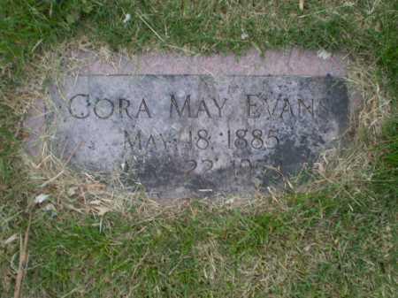 EVANS, CORA MAY - Douglas County, Nebraska   CORA MAY EVANS - Nebraska Gravestone Photos