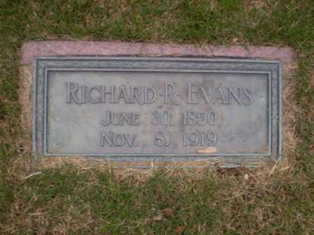 EVANS, RICHARD R - Douglas County, Nebraska | RICHARD R EVANS - Nebraska Gravestone Photos