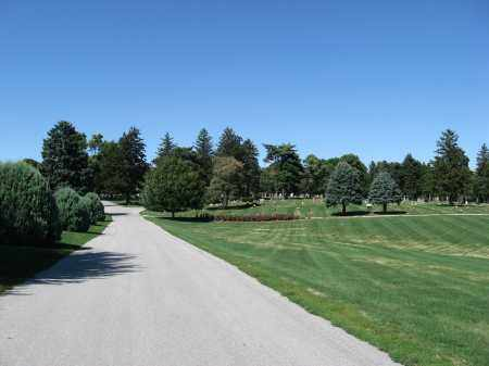 *EVERGREEN MEMORIAL PARK CEMET, VIEW OF - Douglas County, Nebraska   VIEW OF *EVERGREEN MEMORIAL PARK CEMET - Nebraska Gravestone Photos