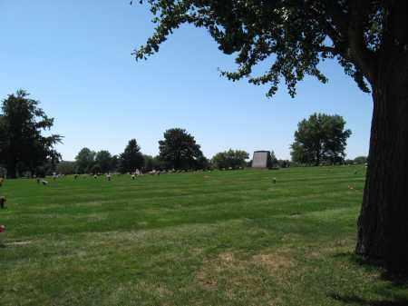 *EVERGREEN MEMORIAL PARK CEMET, VIEW OF - Douglas County, Nebraska | VIEW OF *EVERGREEN MEMORIAL PARK CEMET - Nebraska Gravestone Photos