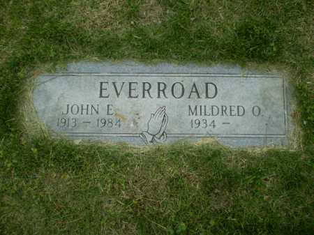 EVERROAD, JOHN E - Douglas County, Nebraska | JOHN E EVERROAD - Nebraska Gravestone Photos