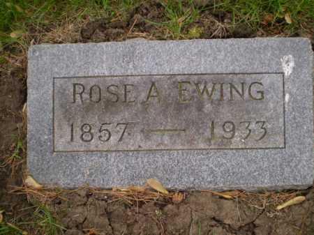 EWING, ROSE A. - Douglas County, Nebraska | ROSE A. EWING - Nebraska Gravestone Photos