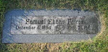 SHONE FAIRES, SAMUEL - Douglas County, Nebraska | SAMUEL SHONE FAIRES - Nebraska Gravestone Photos
