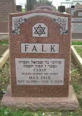 FALK, MAX - Douglas County, Nebraska | MAX FALK - Nebraska Gravestone Photos
