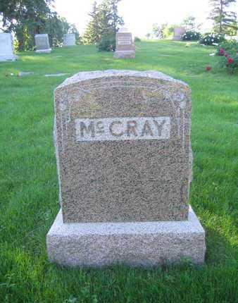 MCCRAY, FAMILY MARKER - Douglas County, Nebraska | FAMILY MARKER MCCRAY - Nebraska Gravestone Photos