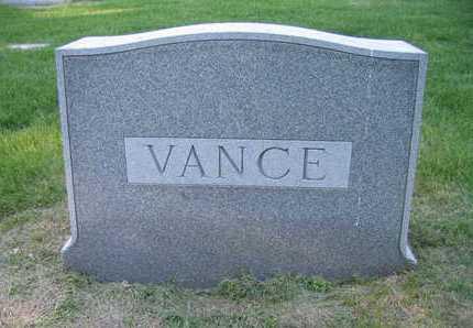 VANCE, FAMILY MARKER - Douglas County, Nebraska | FAMILY MARKER VANCE - Nebraska Gravestone Photos