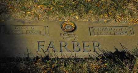 FARBER, CHARLOTTE L. - Douglas County, Nebraska | CHARLOTTE L. FARBER - Nebraska Gravestone Photos