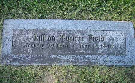 TURNER FIELD, LILLIAN - Douglas County, Nebraska | LILLIAN TURNER FIELD - Nebraska Gravestone Photos