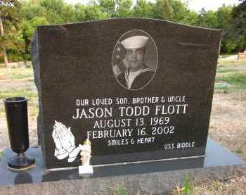 FLOTT, JASON TODD - Douglas County, Nebraska | JASON TODD FLOTT - Nebraska Gravestone Photos