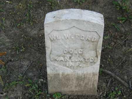 FORD, WM. W. - Douglas County, Nebraska | WM. W. FORD - Nebraska Gravestone Photos
