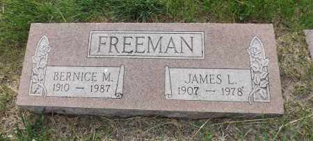 FREEMAN, BERNICE M. - Douglas County, Nebraska | BERNICE M. FREEMAN - Nebraska Gravestone Photos