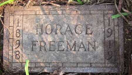 FREEMAN, HORACE - Douglas County, Nebraska | HORACE FREEMAN - Nebraska Gravestone Photos