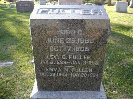 FULLER, JOHN C. - Douglas County, Nebraska | JOHN C. FULLER - Nebraska Gravestone Photos