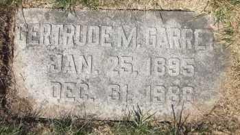 METZ GARRETT, GERTRUDE M. - Douglas County, Nebraska | GERTRUDE M. METZ GARRETT - Nebraska Gravestone Photos