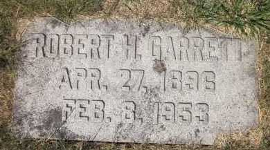 GARRETT, ROBERT H. - Douglas County, Nebraska | ROBERT H. GARRETT - Nebraska Gravestone Photos