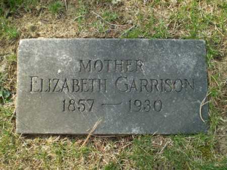 GARRISON, ELIZABETH - Douglas County, Nebraska | ELIZABETH GARRISON - Nebraska Gravestone Photos