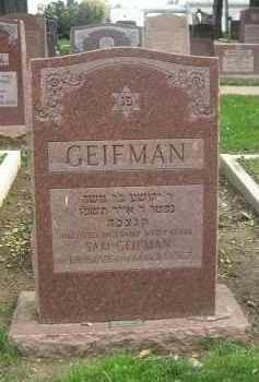 GEIFMAN, SAM - Douglas County, Nebraska | SAM GEIFMAN - Nebraska Gravestone Photos