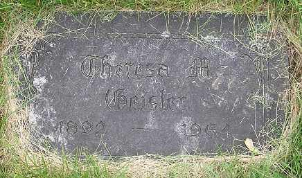 GUTH GEISLER, THERSA M. - Douglas County, Nebraska | THERSA M. GUTH GEISLER - Nebraska Gravestone Photos