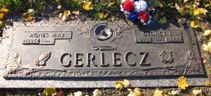 GERLECZ, AGNES MAE - Douglas County, Nebraska   AGNES MAE GERLECZ - Nebraska Gravestone Photos