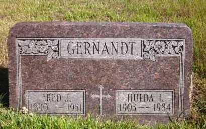 GERNANDT, FRED J. - Douglas County, Nebraska | FRED J. GERNANDT - Nebraska Gravestone Photos