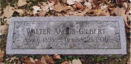 GILBERT, WALTER ANGUS - Douglas County, Nebraska | WALTER ANGUS GILBERT - Nebraska Gravestone Photos
