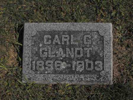 GLANDT, CARL - Douglas County, Nebraska | CARL GLANDT - Nebraska Gravestone Photos