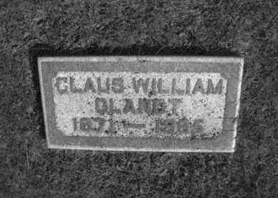 GLANDT, CLAUS - Douglas County, Nebraska | CLAUS GLANDT - Nebraska Gravestone Photos