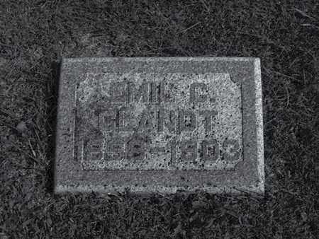 GLANDT, EMIL - Douglas County, Nebraska | EMIL GLANDT - Nebraska Gravestone Photos
