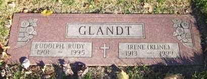 KLINE GLANDT, IRENE - Douglas County, Nebraska | IRENE KLINE GLANDT - Nebraska Gravestone Photos