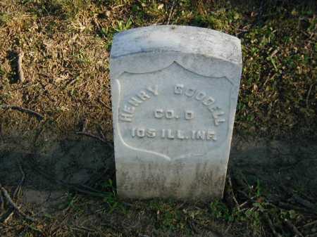 GOODELL, HENRY - Douglas County, Nebraska   HENRY GOODELL - Nebraska Gravestone Photos