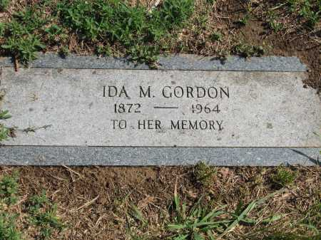 GORDON, IDA M. - Douglas County, Nebraska | IDA M. GORDON - Nebraska Gravestone Photos