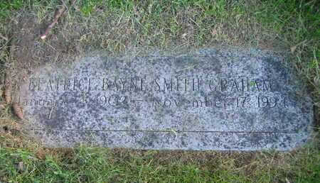 SMITH GRAHAM, BEATRICE BAYNE - Douglas County, Nebraska | BEATRICE BAYNE SMITH GRAHAM - Nebraska Gravestone Photos