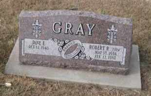 GRAY, JANE E. - Douglas County, Nebraska | JANE E. GRAY - Nebraska Gravestone Photos