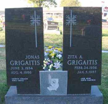 GRIGAITIS, ZITA A. - Douglas County, Nebraska | ZITA A. GRIGAITIS - Nebraska Gravestone Photos