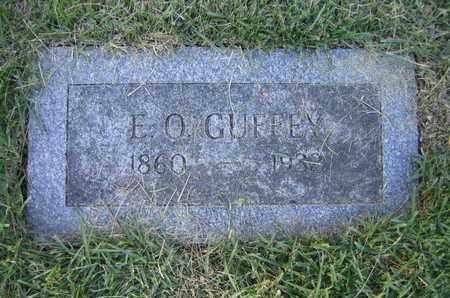 GUFFEY, EPHRAIM O - Douglas County, Nebraska | EPHRAIM O GUFFEY - Nebraska Gravestone Photos