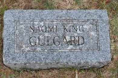 GULGARD, NAOMI - Douglas County, Nebraska | NAOMI GULGARD - Nebraska Gravestone Photos