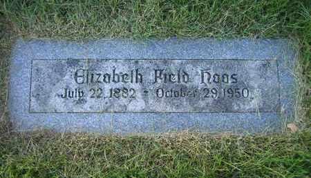 HAAS, ELIZABETH - Douglas County, Nebraska | ELIZABETH HAAS - Nebraska Gravestone Photos