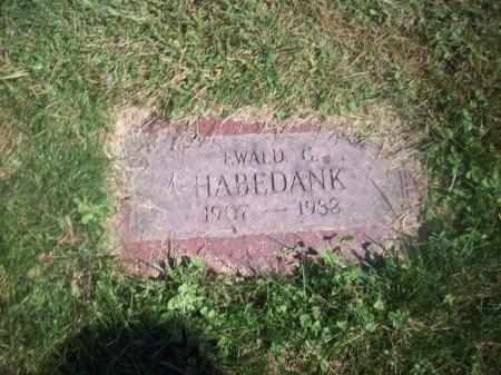 HABEDANK, EWALD C - Douglas County, Nebraska | EWALD C HABEDANK - Nebraska Gravestone Photos