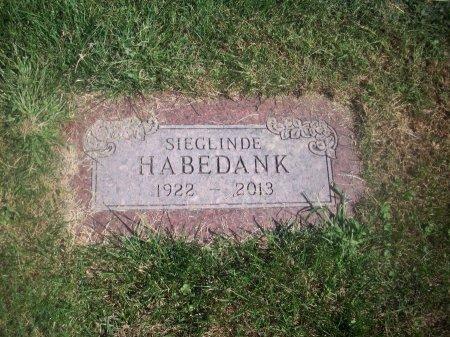 HABEDANK, SIEGLINDE - Douglas County, Nebraska   SIEGLINDE HABEDANK - Nebraska Gravestone Photos