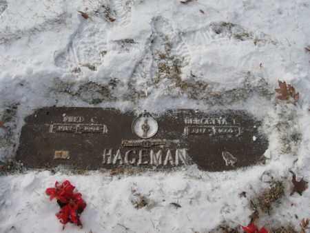 FOX HAGEMAN, BERGETTA - Douglas County, Nebraska | BERGETTA FOX HAGEMAN - Nebraska Gravestone Photos