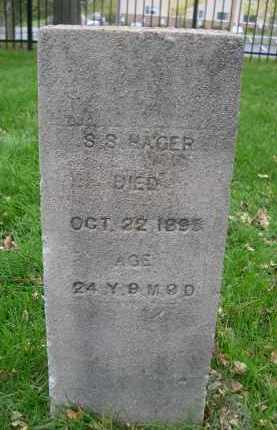 HAGER, S.S. - Douglas County, Nebraska | S.S. HAGER - Nebraska Gravestone Photos