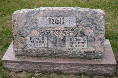 HALL, EMMA B. - Douglas County, Nebraska | EMMA B. HALL - Nebraska Gravestone Photos