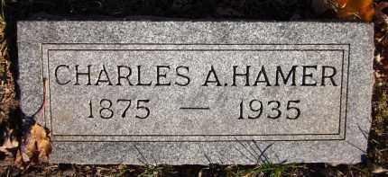 HAMER, CHARLES A. - Douglas County, Nebraska   CHARLES A. HAMER - Nebraska Gravestone Photos