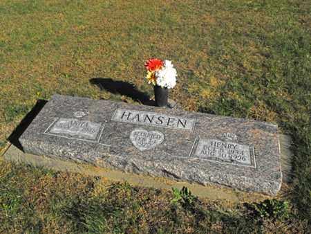HANSEN, ANITA - Douglas County, Nebraska   ANITA HANSEN - Nebraska Gravestone Photos