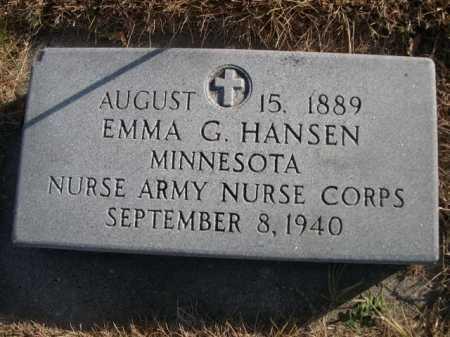 HANSEN, EMMA G. - Douglas County, Nebraska   EMMA G. HANSEN - Nebraska Gravestone Photos